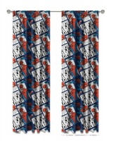 Spider Man Spiderman Unlined Curtians - Set of 2 Photo