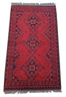 Quality Persian Rugs Afghan Genuine Turkman Carpet - 120 x 80 cm Photo
