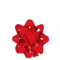 AK Christmas Wrapping - Red Velvet Gift Bow Photo