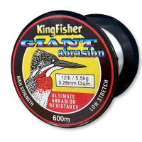 Kingfisher Giant Abrasion Nylon .28MM 5.5KG/12LB Colour Clear 600m Spool Photo