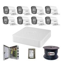 Hikvision 8 Channel 1080p ColorVu Complete Kit Photo