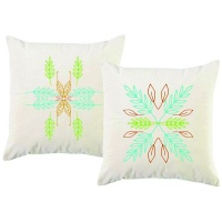 PepperSt - Scatter Cushion Cover Set - Abstract Leaves Photo
