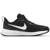 Nike Revolution 5 - Little Kids' Shoe - Black / Grey Photo