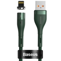 Baseus 2.4A - 1m Magnetic USB Type-A to Lightning Cable Photo