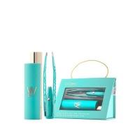 La - Tweez - Pro Illuminating Tweezers - Blue Carry Case Diamond Dust Tip Photo