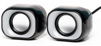 HP Mini Multimedia Desktop Stereo Speakers Photo