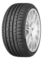 Continental 205/45R17 84V SSR * ContiSportContact 3-Tyre Photo