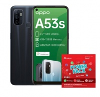 OPPO A53s 128GB Single - Electric Black Power Cellphone Cellphone Photo