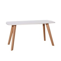Click Furniture Mina White Coffee Table Photo