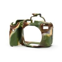 EasyCover PRO Silicon DSLR Case for Canon 90D - Camouflage Digital Camera Photo
