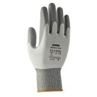 Uvex Phynomic Foam Safety Gloves - Grey / White Photo
