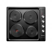 Hisense -600mm 4 Plate Hob-Black Photo