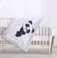Fashionation Baby Panda Camp Cot Comforter Set Photo