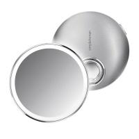 Stingray SIMPLE HUMAN - 10Cm Sensor Mirror Compact -3X Magnification- Rose Gold S/S Photo