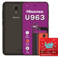 Hisense Infinity U963 8GB - Black Power Cellphone Photo