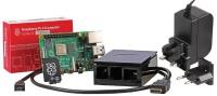 Raspberry Pi RPI4-MODB HDMISK-BLK2GB 4B Starter Kit 2GB Black Photo
