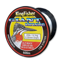 Kingfisher Giant Abrasion Nylon .35MM 9.1KG/20LB Colour Clear 600m Spool Photo