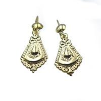 9ct Yellow Gold Nkitsing Earrings - Tear Drop Photo
