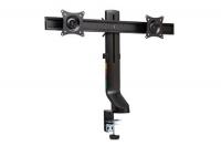 Kensington SmartFit Space-Saving Dual Monitor Arm - Black Photo