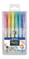 Pilot SW-FL Pastel Frixion Highlighters - Wallet of 6 Assorted Colours Photo
