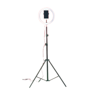 ECCO RM18830/TR160 36cm LED Ring Fill Light Tripod Stand Photo