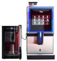 Knig Coffee König Coffee-V8 Bean to Cup OTC Coffee Machine with Milk Cooler Photo
