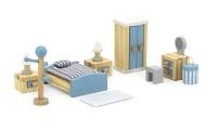 Viga - Doll House Main Bedroom Furniture Playset Photo