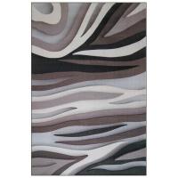 Carpet City Factory Shop Grey Black Beige Flames 160x230 Photo