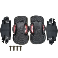 Vanhunks Twin Tip Kiteboard Foot Straps And Pads Set Photo