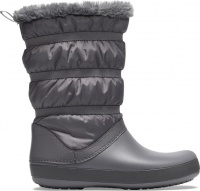 Crocs Crocband Winter Boot Women's - Charcoal Photo