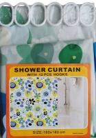 Yilian Shower Curtain with Hooks Photo