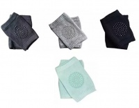 Pack of 4 x Pairs of Crawling Baby Knee Pads - Boy Photo