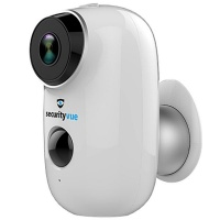Securityvue Outdoor Rechargeable IP Security Camera 1080P HD White Photo