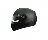 Spirit Fusion Matt Black Helmet Photo