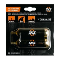 SKS Germany SKS CO2 Tyre Inflator Cartridges for Bikes 24 G with Thread – Set of 2 Photo