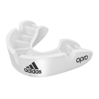 adidas Fitness Opro Mouth Guard Snr White Photo