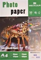 MECOLOUR TT-SAG135 Self Adhesive Glossy Photo Paper A4 50 Sheets Photo