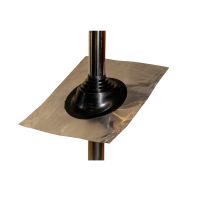 Waterproof Slope Roof Flashing for Pipe Diameter 80mm - 190mm Photo