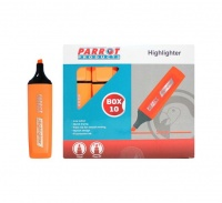 Parrot Products Parrot Marker Highlighter Box 10 - Orange Photo