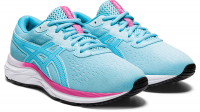 ASICS Kids Gel-Excite 7 Gs Road Running Shoes - Light Blue Photo