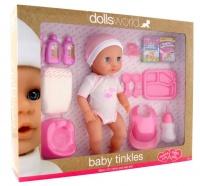 Dollsworld - Baby Tinkles Doll - 38cm Photo