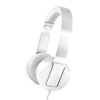 Maxell SMS-10 METALZ Mid Size Headphones - Pearl Photo