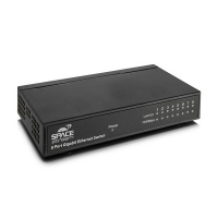 Space TV 8 port 10/100/1000m Ethernet switch Photo