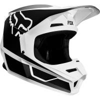 Fox Racing Fox Kids V1 PRZM Black/White Helmet Photo