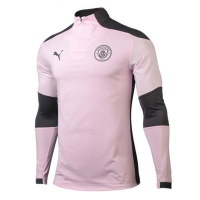 Puma Manchester City Quarter Zip Top Pink Photo