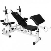 GORILLA SPORTS SA GOIRLLA SPORTS SA - Universal Weight Bench Workstation - White Photo