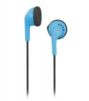 Maxell Stereo Earphones - BLACK and BLUE Photo