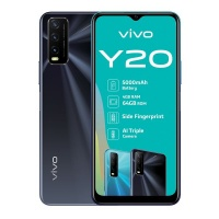 Vivo Y20 64GB - Obsidian Black Cellphone Cellphone Photo