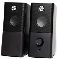 HP Elegant Multimedia Desktop Stereo Speakers Photo