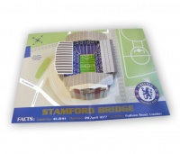 Chelsea FC Chelsea Stamford Bridge Stadium Pop Up Birthday Greeting Card Photo